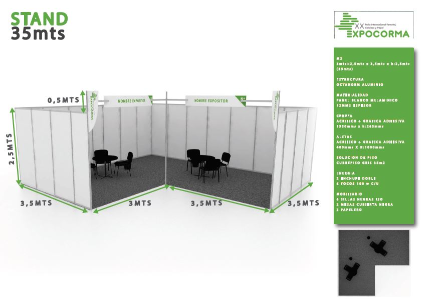 Stand 35mt2 A
